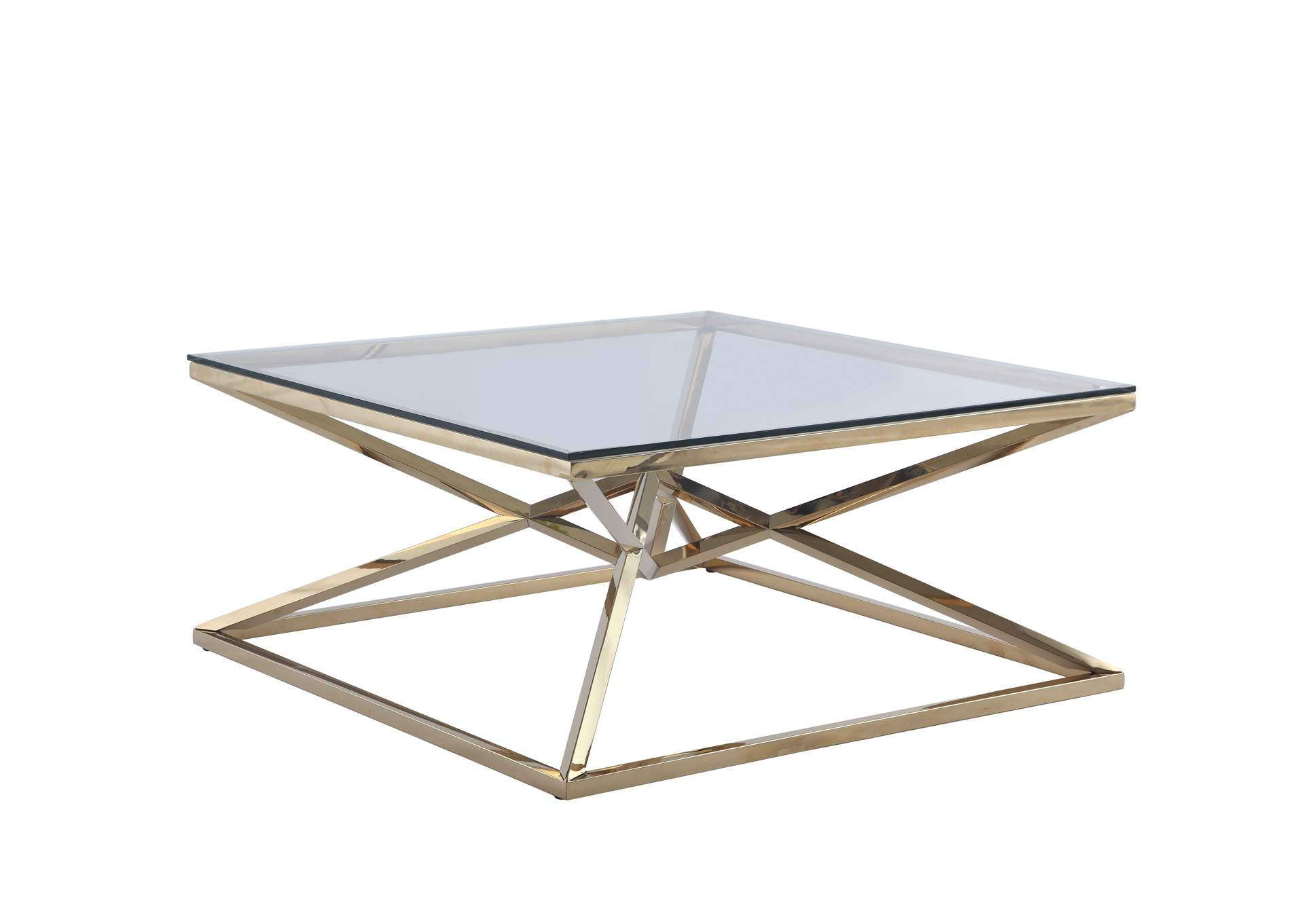 Contemporary Cocktail Table,Chintaly Imports