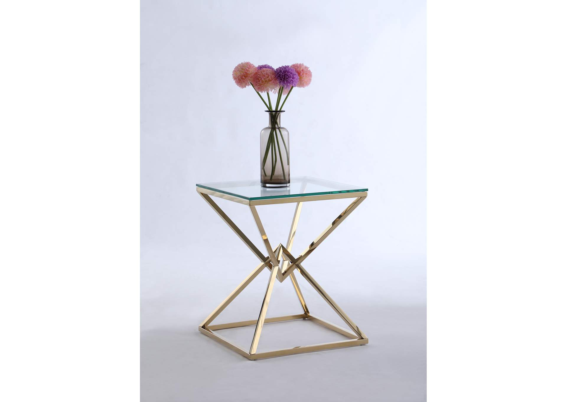 Contemporary Lamp Table,Chintaly Imports