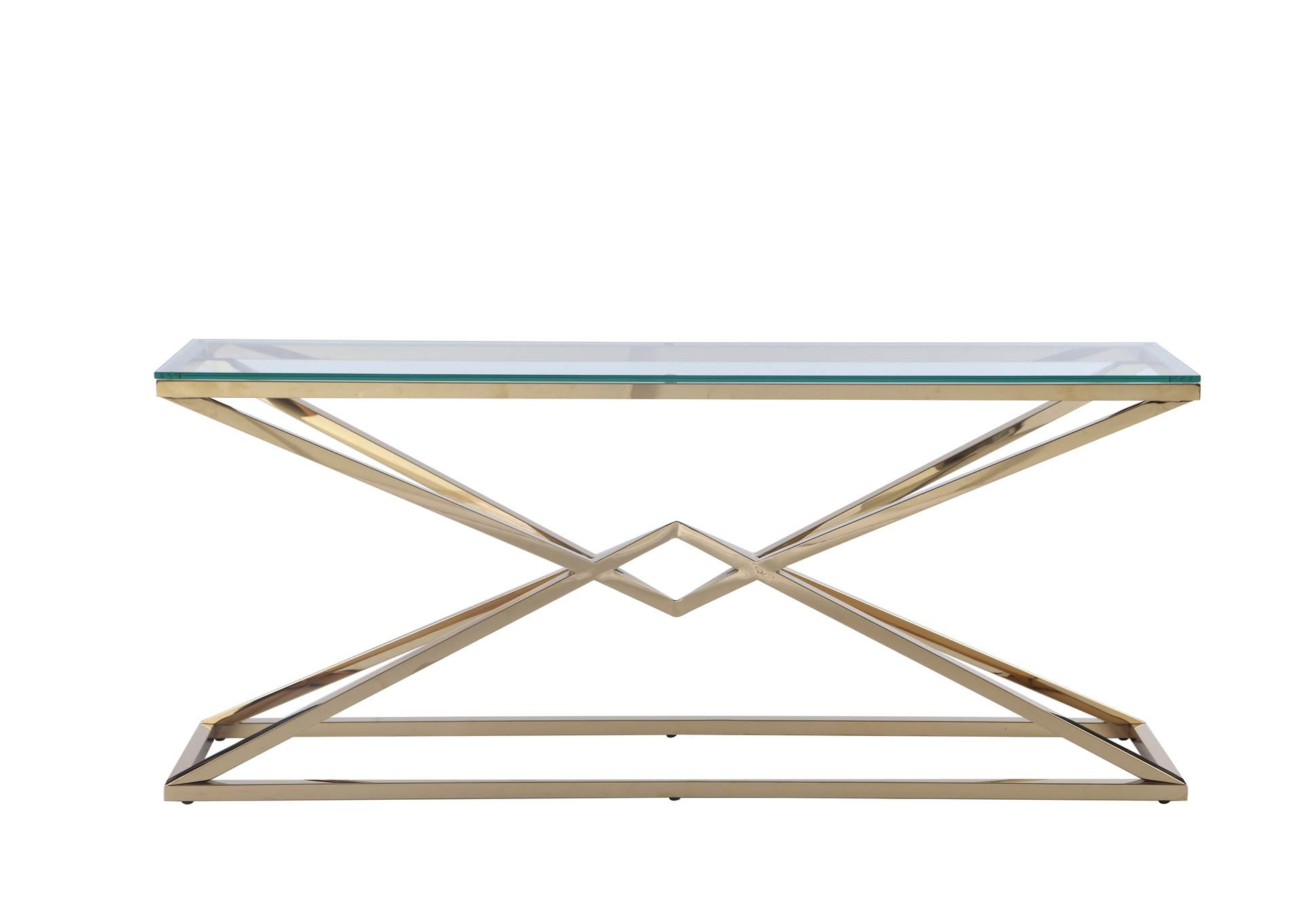 Contemporary Sofa Table,Chintaly Imports