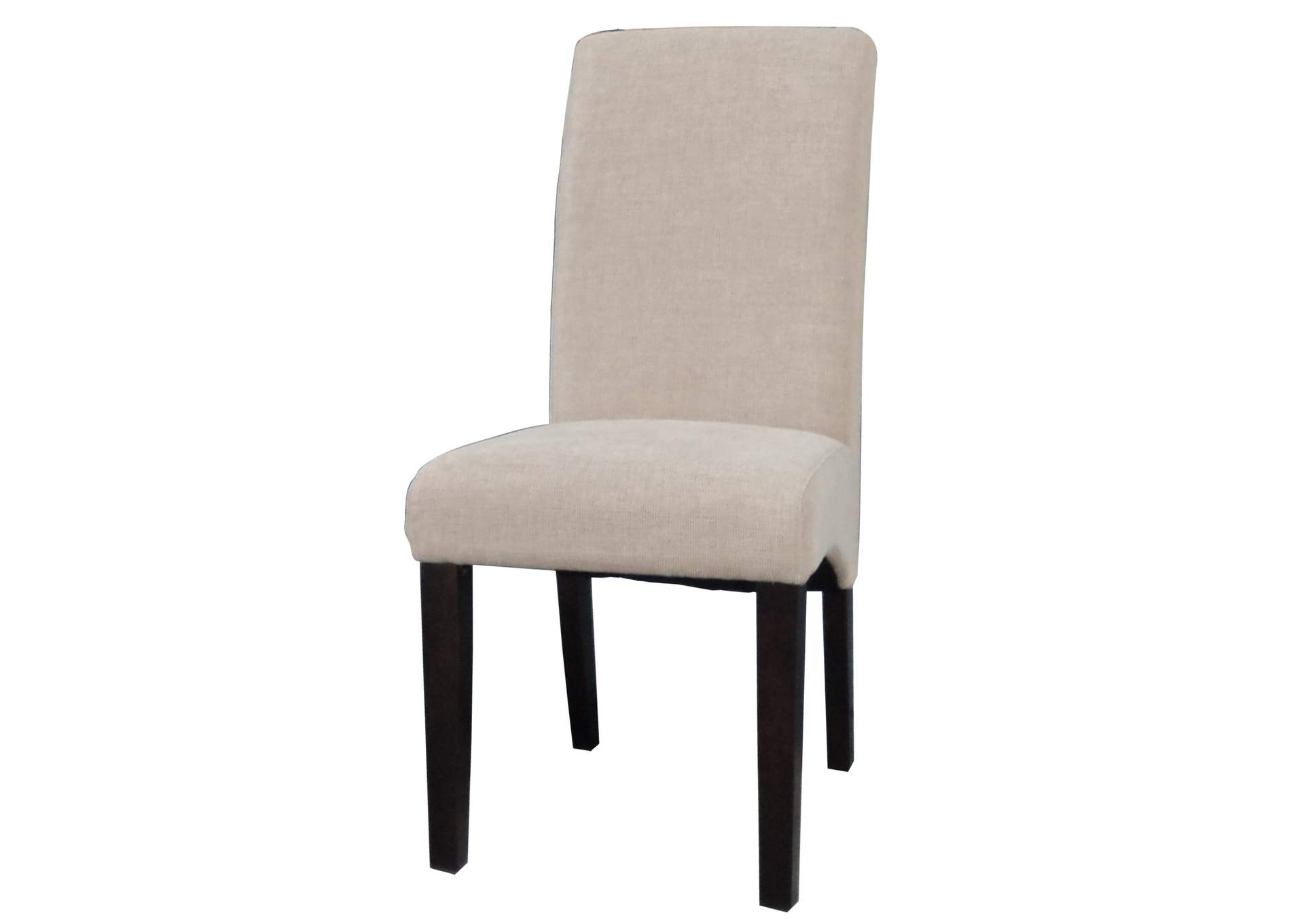 Marcella Satin Espresso Arch Base Parson Side Chair (Set of 2),Chintaly Imports