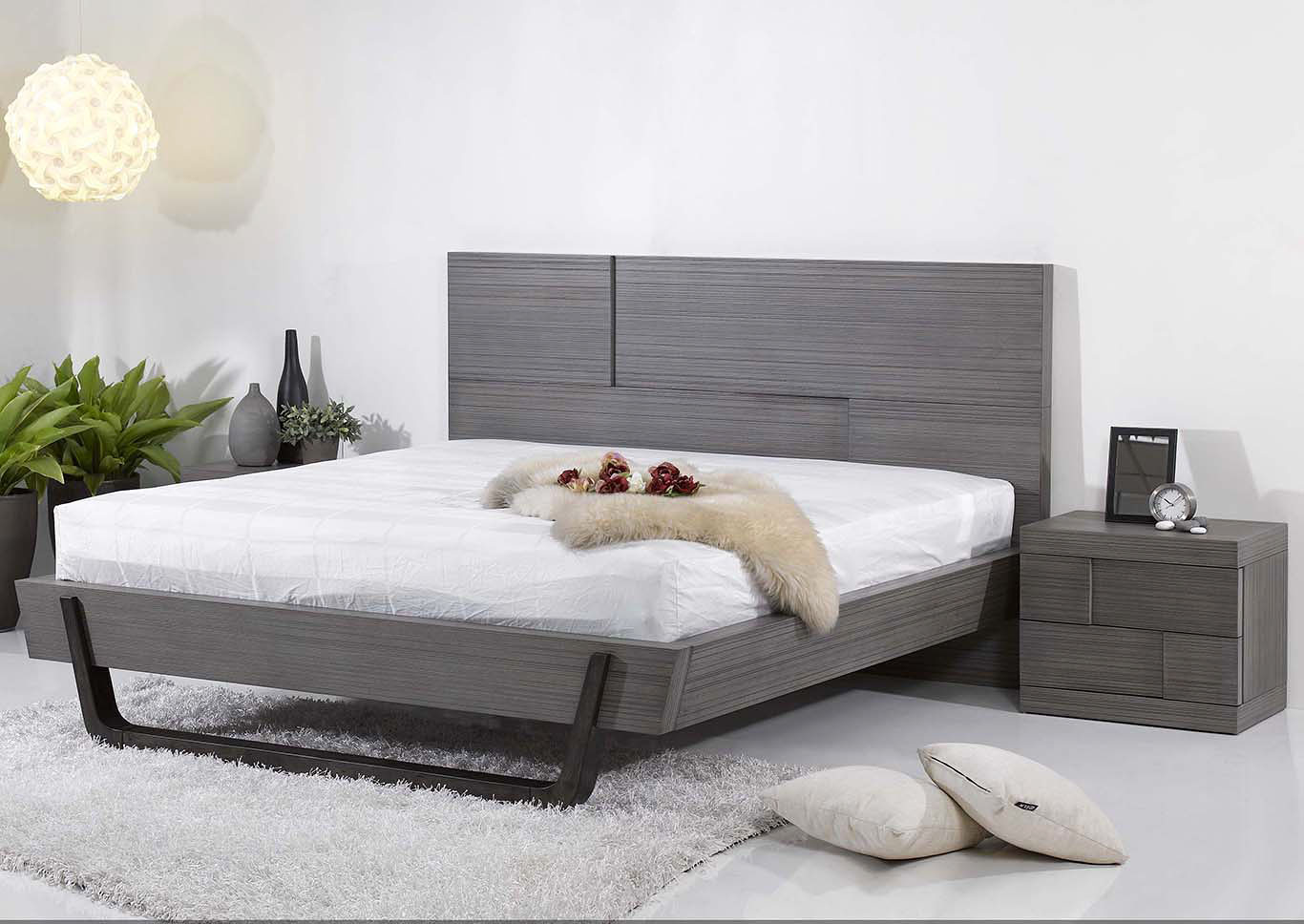 Sydney Queen Platform Bed,Chintaly Imports