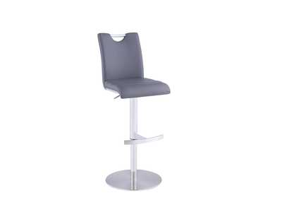 Grey Handle Back Adjustable Stool