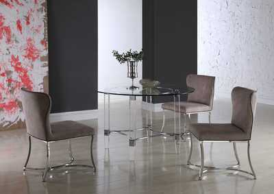 Autumn Taupe 5 Piece Dining Room Set