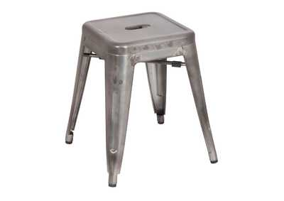 Gunmetal Galvanized Steel Side Chair (Set of 4)