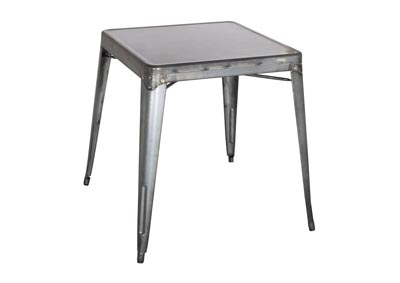Image for Gunmetal Galvanized Steel Dining Table