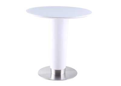 Agnes White Counter Height Dining Table