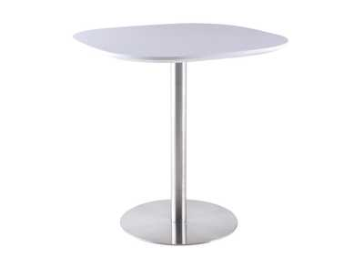 Aimee White Counter Height Dining Table