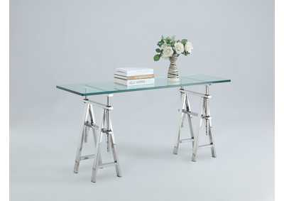 Image for Karen Clear Sofa Table