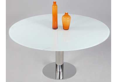 Tami Starphire Glass Extendable Glass Dining Table