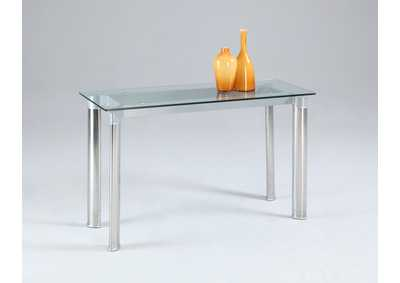 Image for Tara Tempered Glass Top Sofa Table
