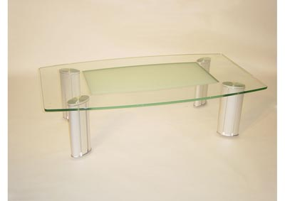 Image for Tracy Clear Cocktail Table