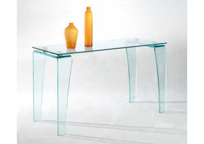 Image for Vera Clear Sofa Table