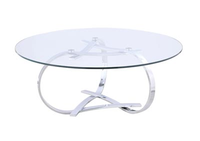 Image for Whitney Clear Cocktail Table