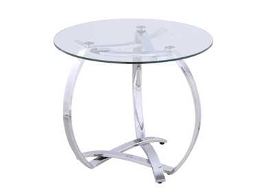 Image for Whitney Clear Lamp Table