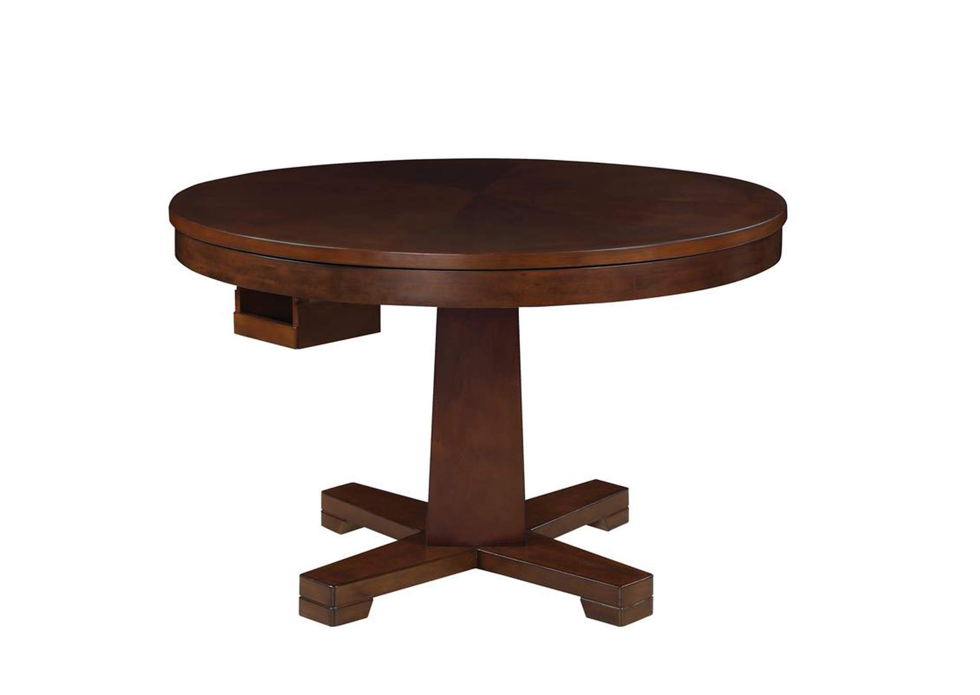Eclipse Marietta Casual Tobacco Finished Game Table,Coaster Furniture