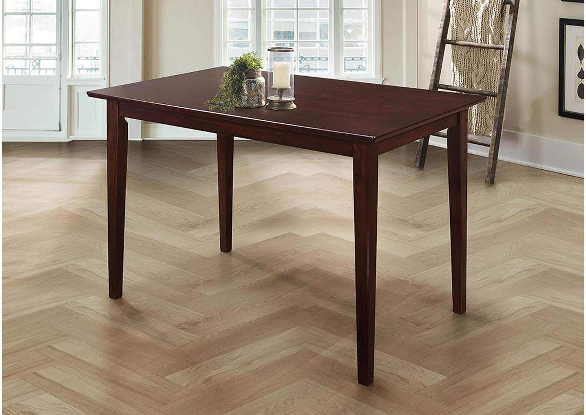Cappuccino Clayton Rectangular Dining Table,Coaster Furniture