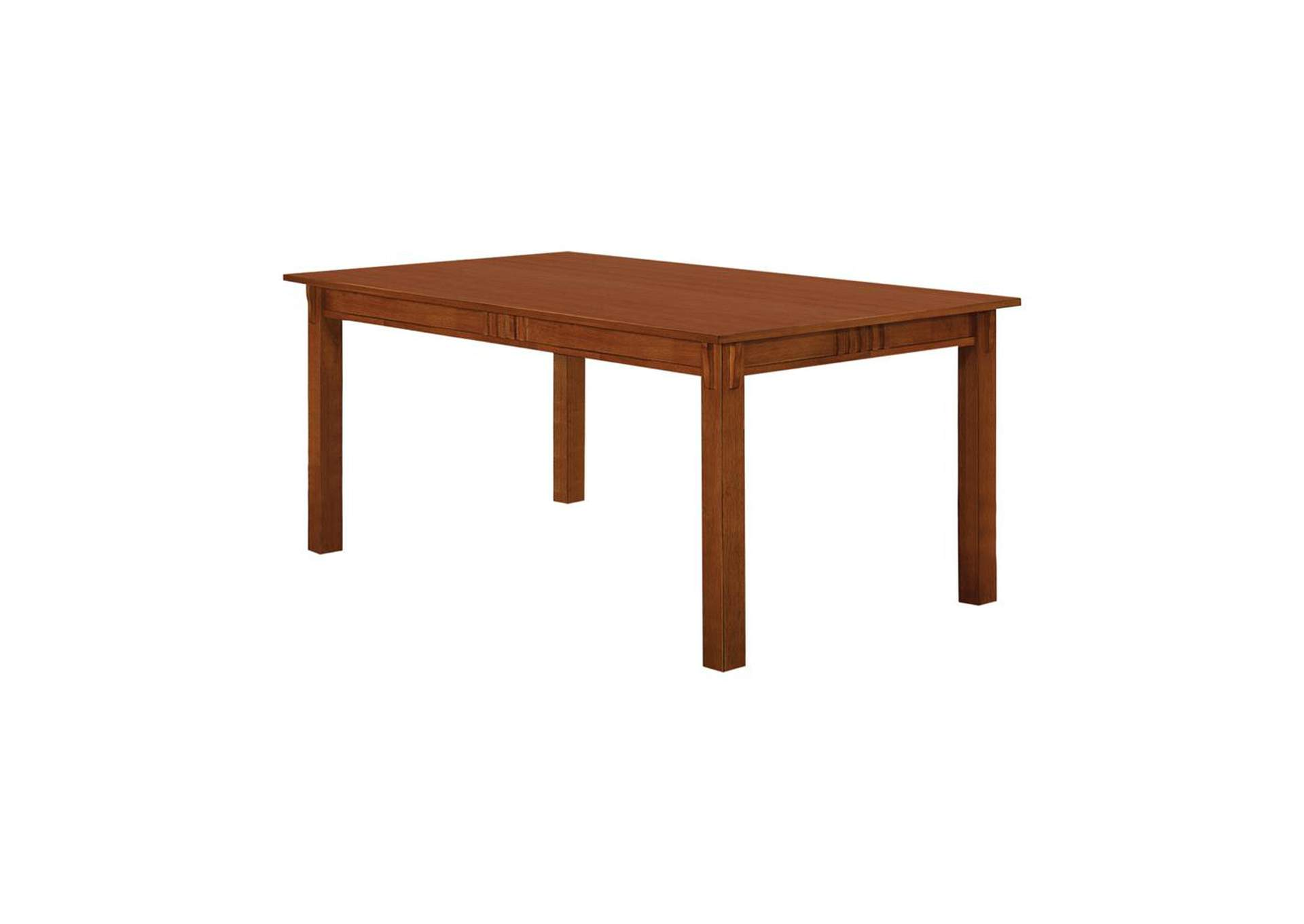 Mule Fawn Morrisa Mission Dining Table,Coaster Furniture