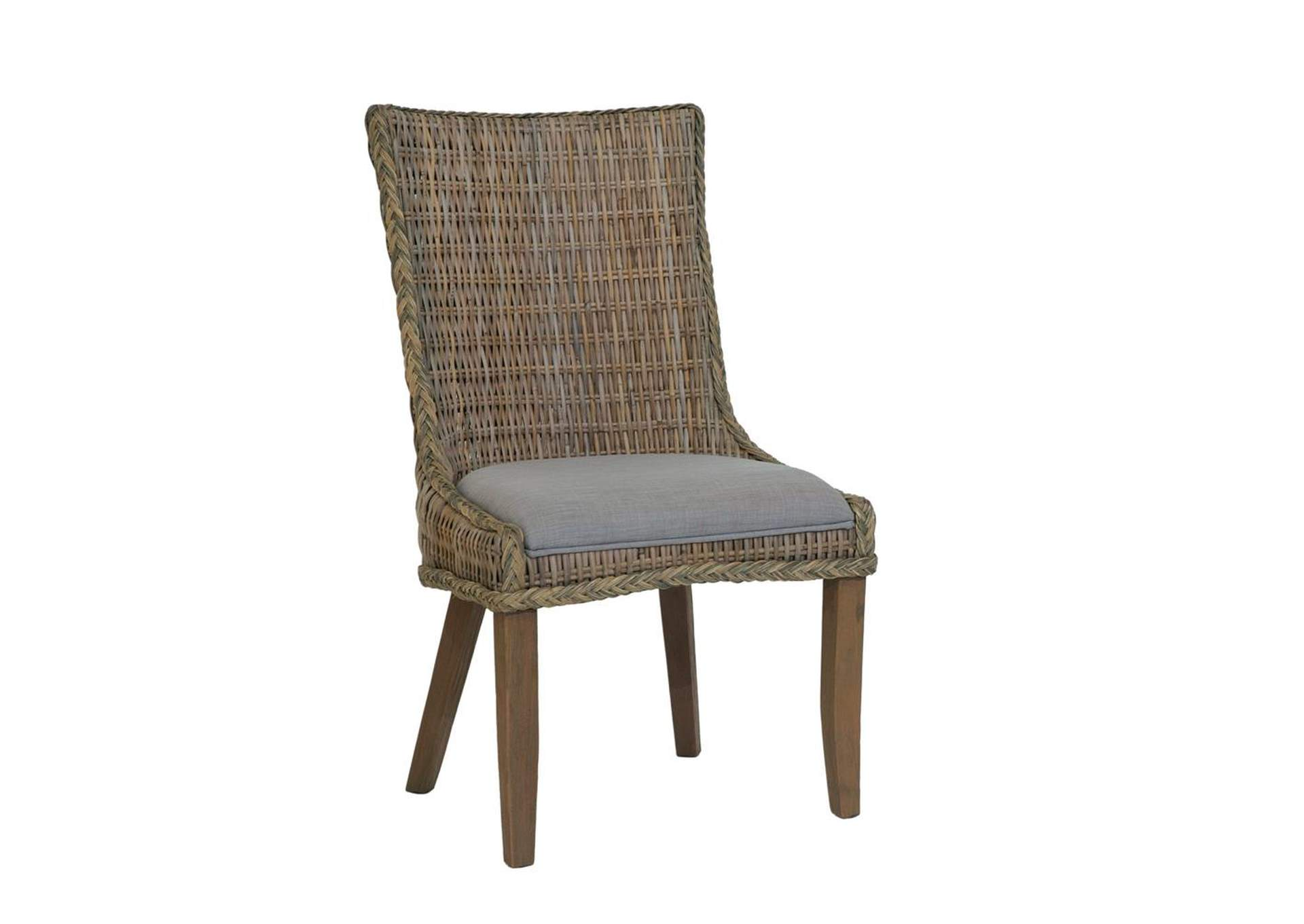 Coffee Matisse Country Woven Side Dining Chair,Coaster Furniture