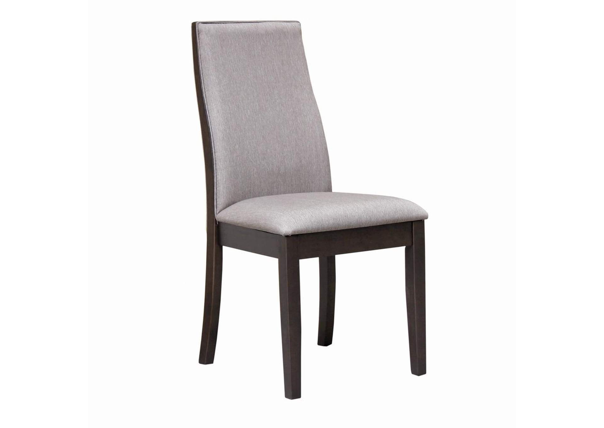Spring Creek Upholstered Side Chairs Grey (Set of 2),Coaster Furniture