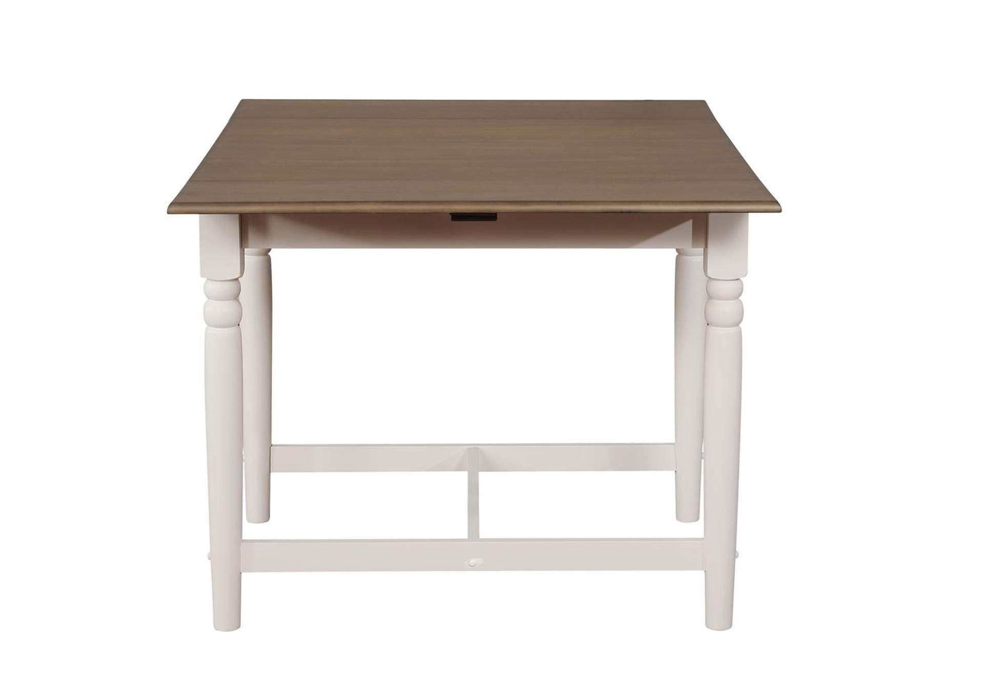 Ebb Hesperia Cottage White Dining Table,Coaster Furniture