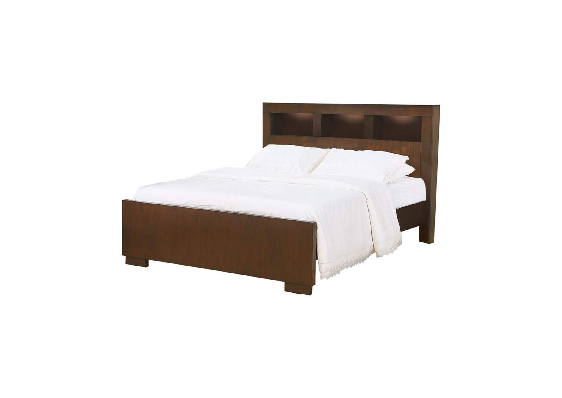 Cultured Pearl Jessica Contemporary California King Bed Dream Decor Furniture