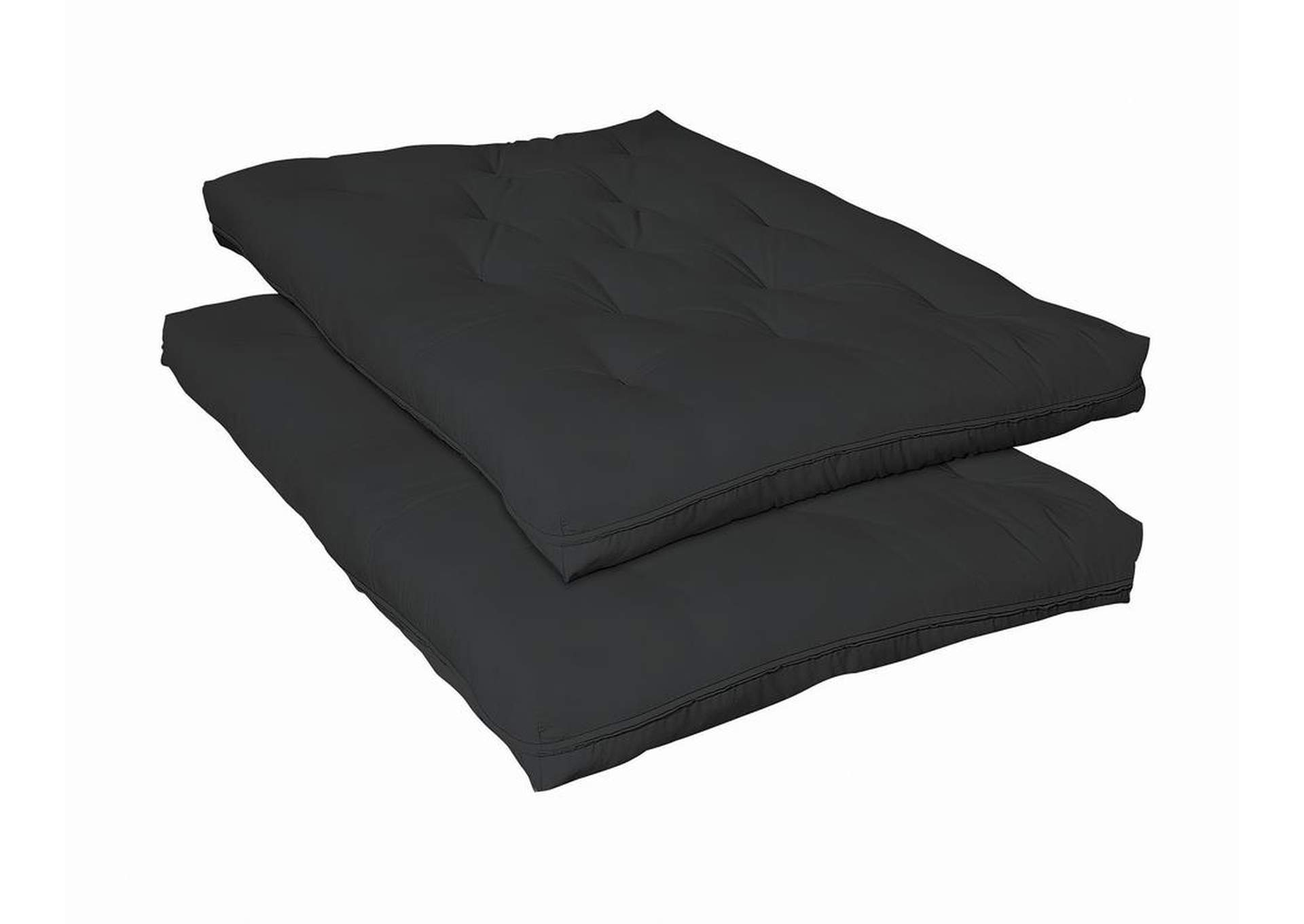 Mine Shaft Black Premium Futon Pad,Coaster Furniture
