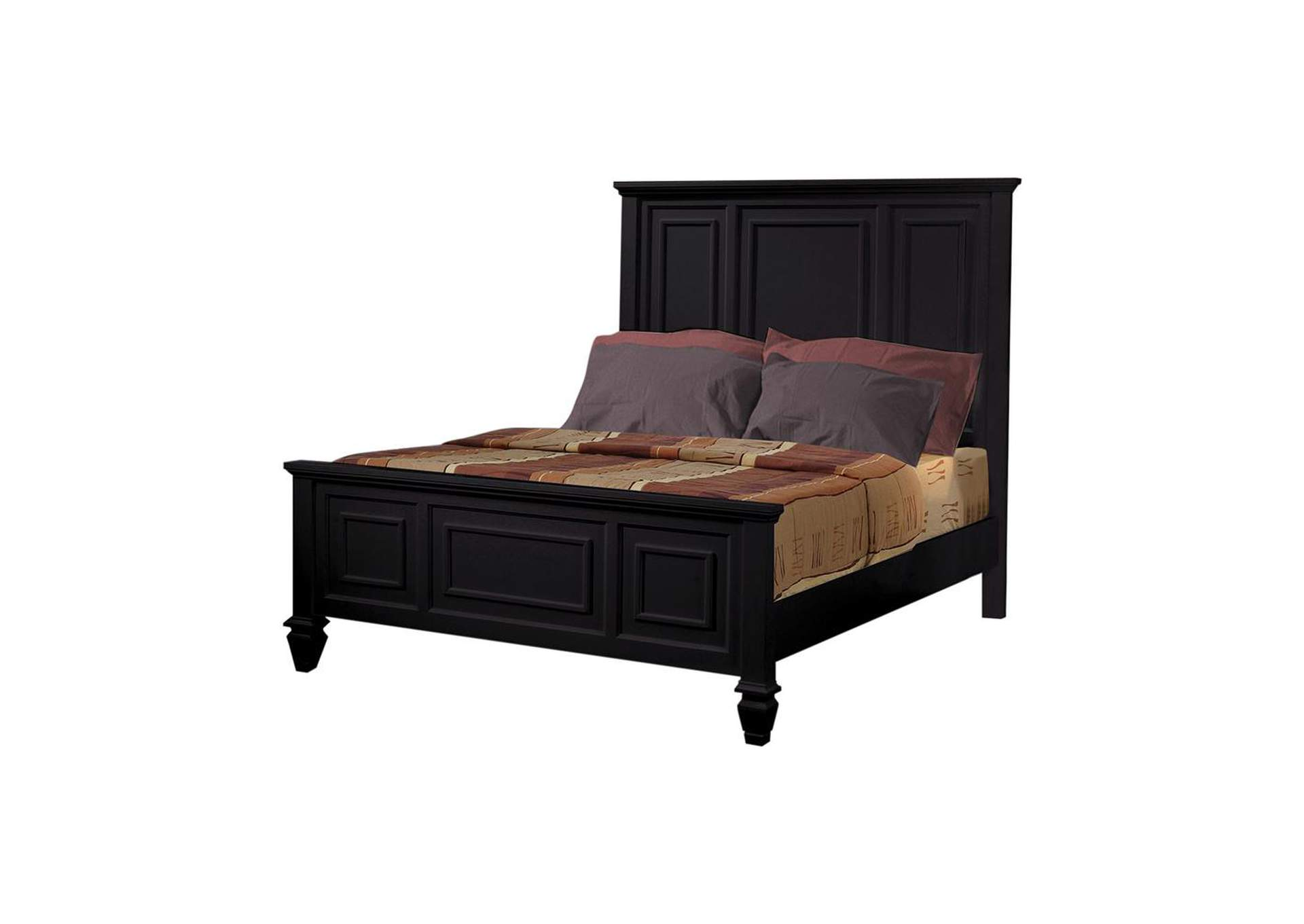 Sandy Beach Black Eastern King Storage Bed,Coaster Furniture
