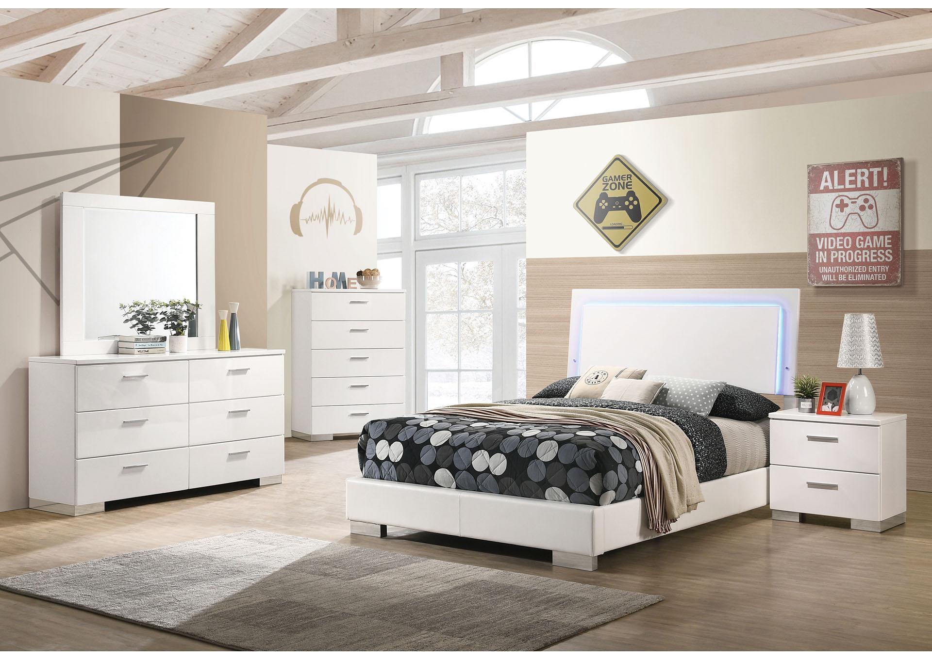 Pampas 6 Piece California King Bedroom Set The Furniture Loft