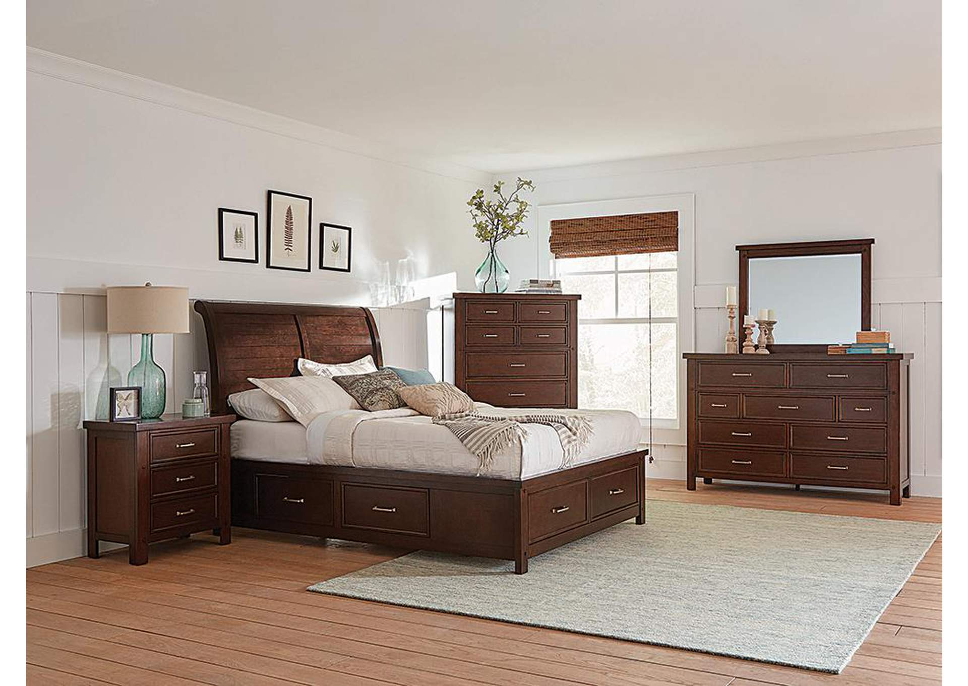 Cedar Eastern King Bed,Coaster Furniture