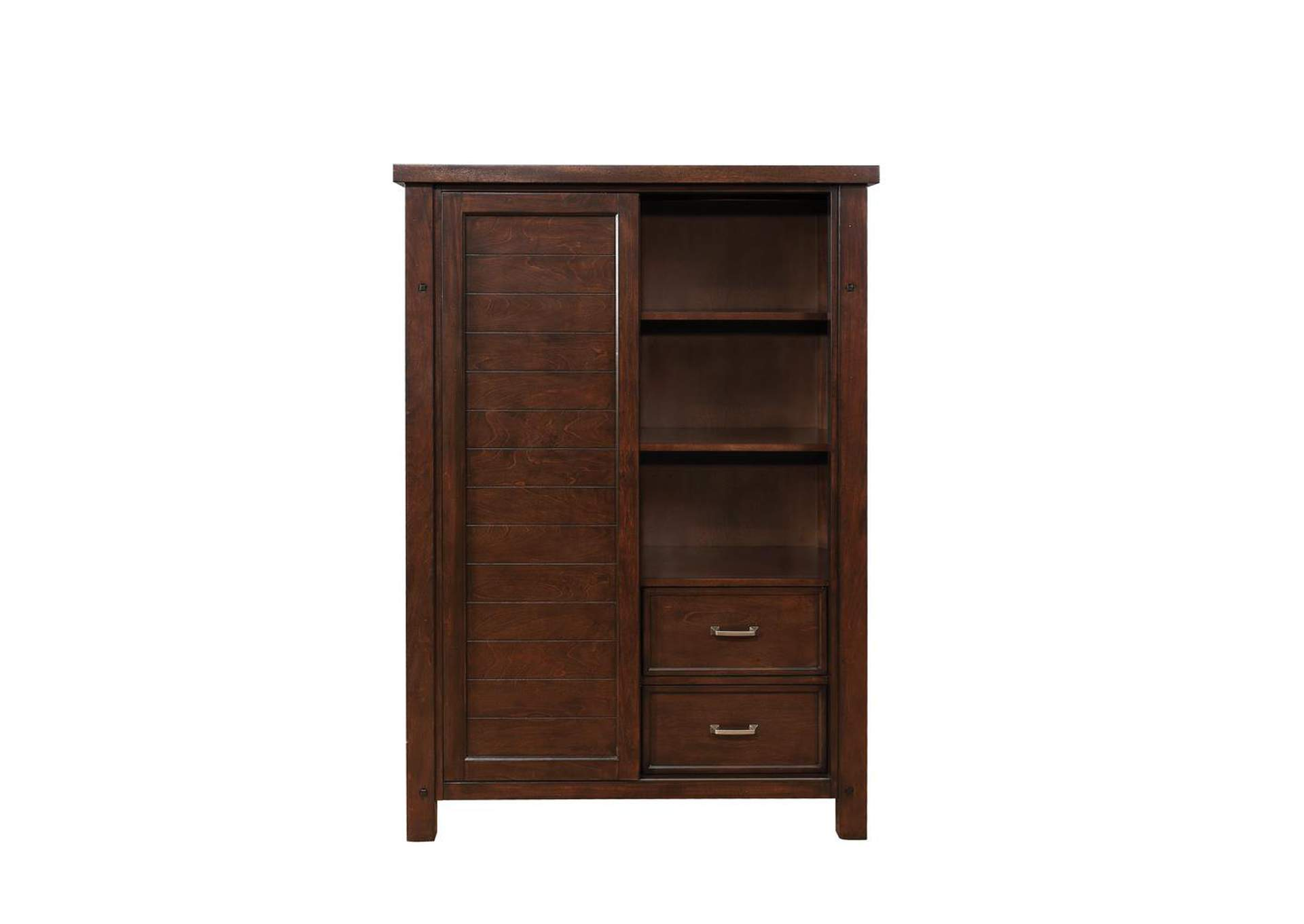 Barstow 8-Drawer Door Chest Pinot Noir,Coaster Furniture