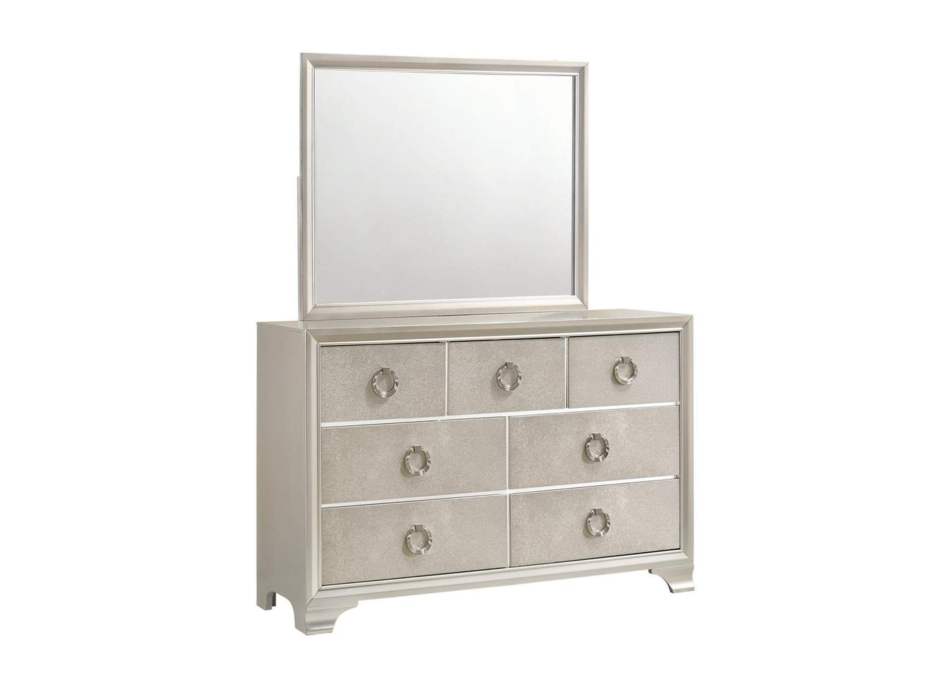 Salford Sterling Dresser & Mirror,Coaster Furniture