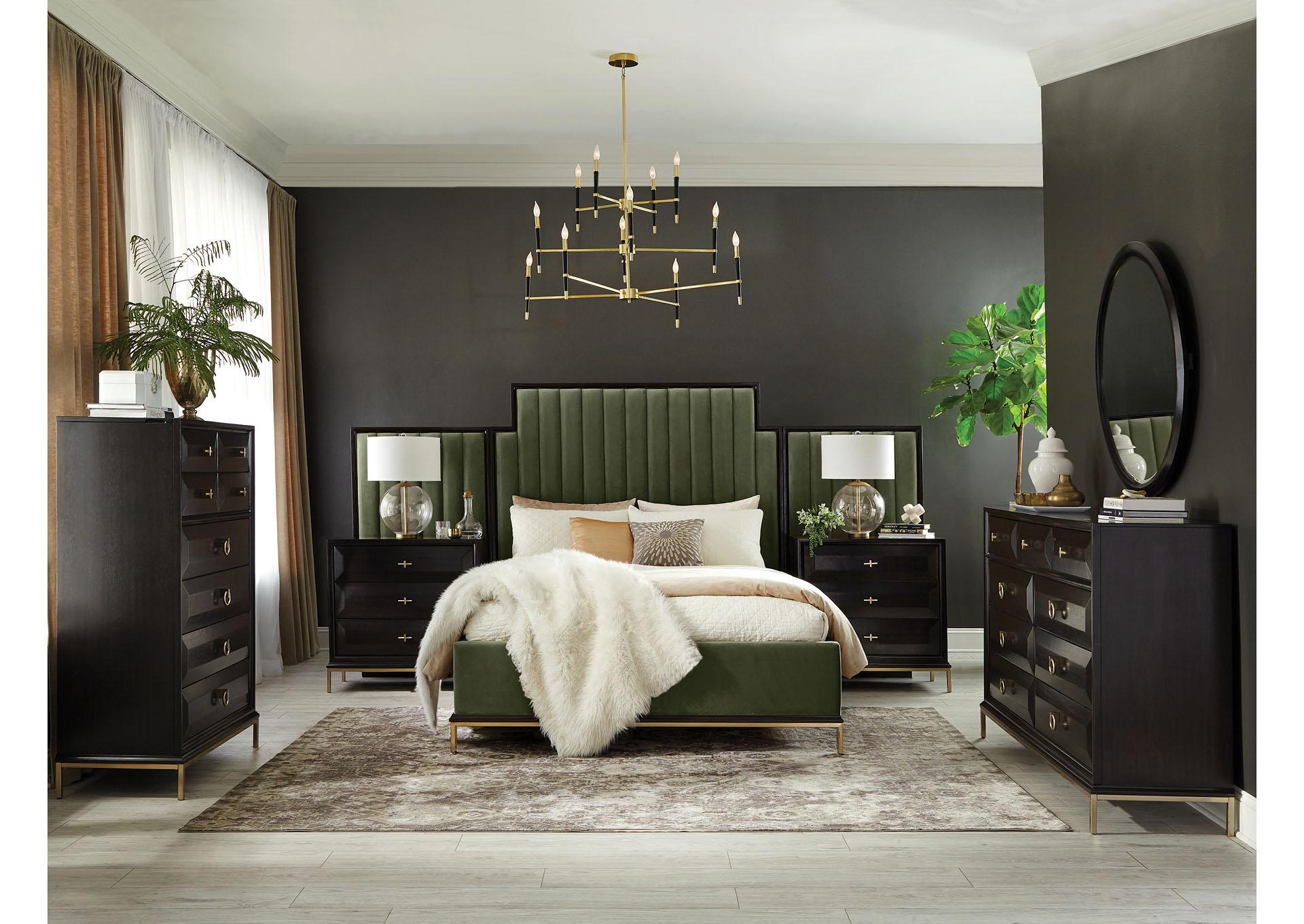 Formosa Armadillo 4 Piece California King Bedroom Set Furniture Factory Ca
