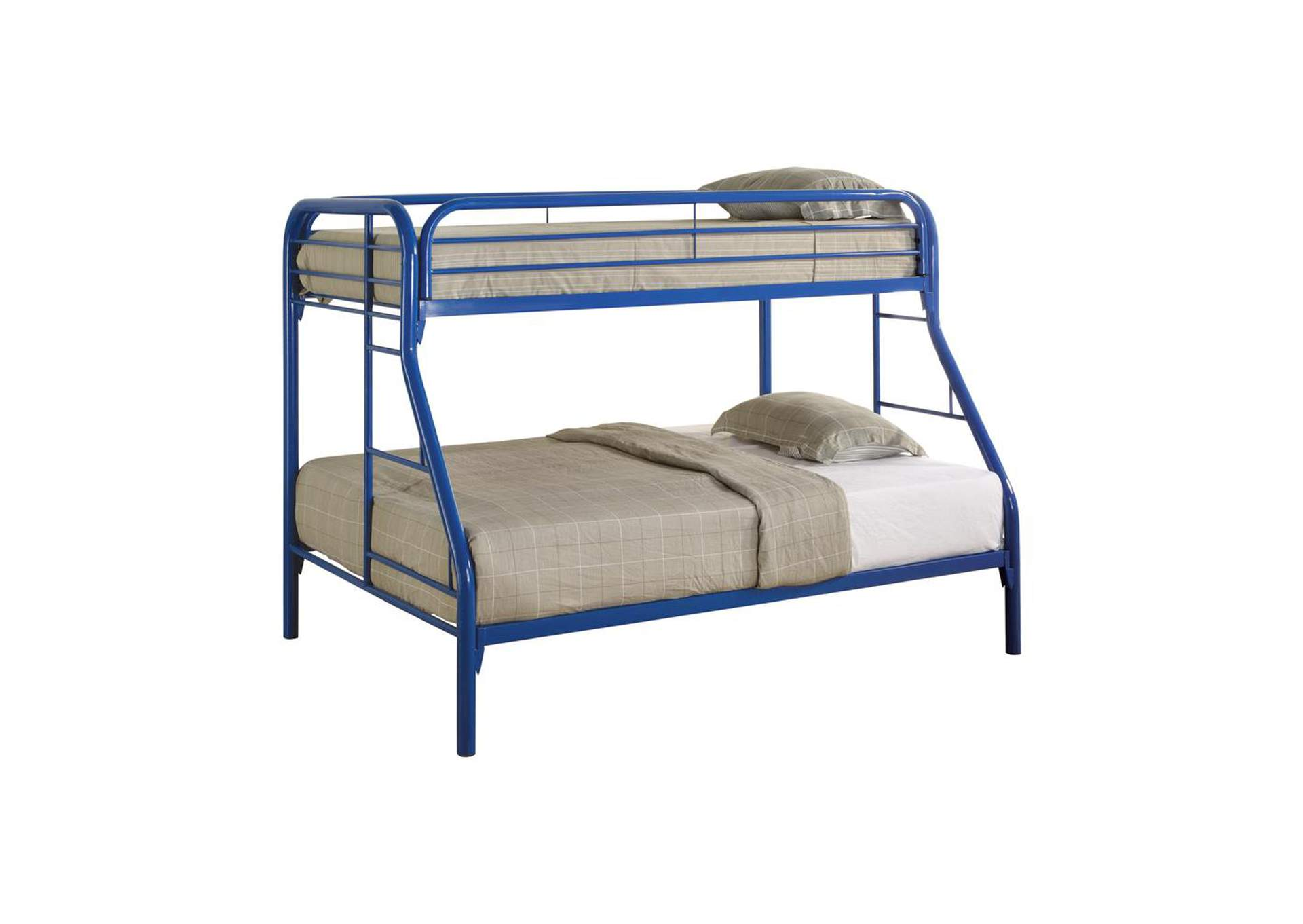 Nomad Morgan Twin-over-Full Blue Bunk Bed,Coaster Furniture