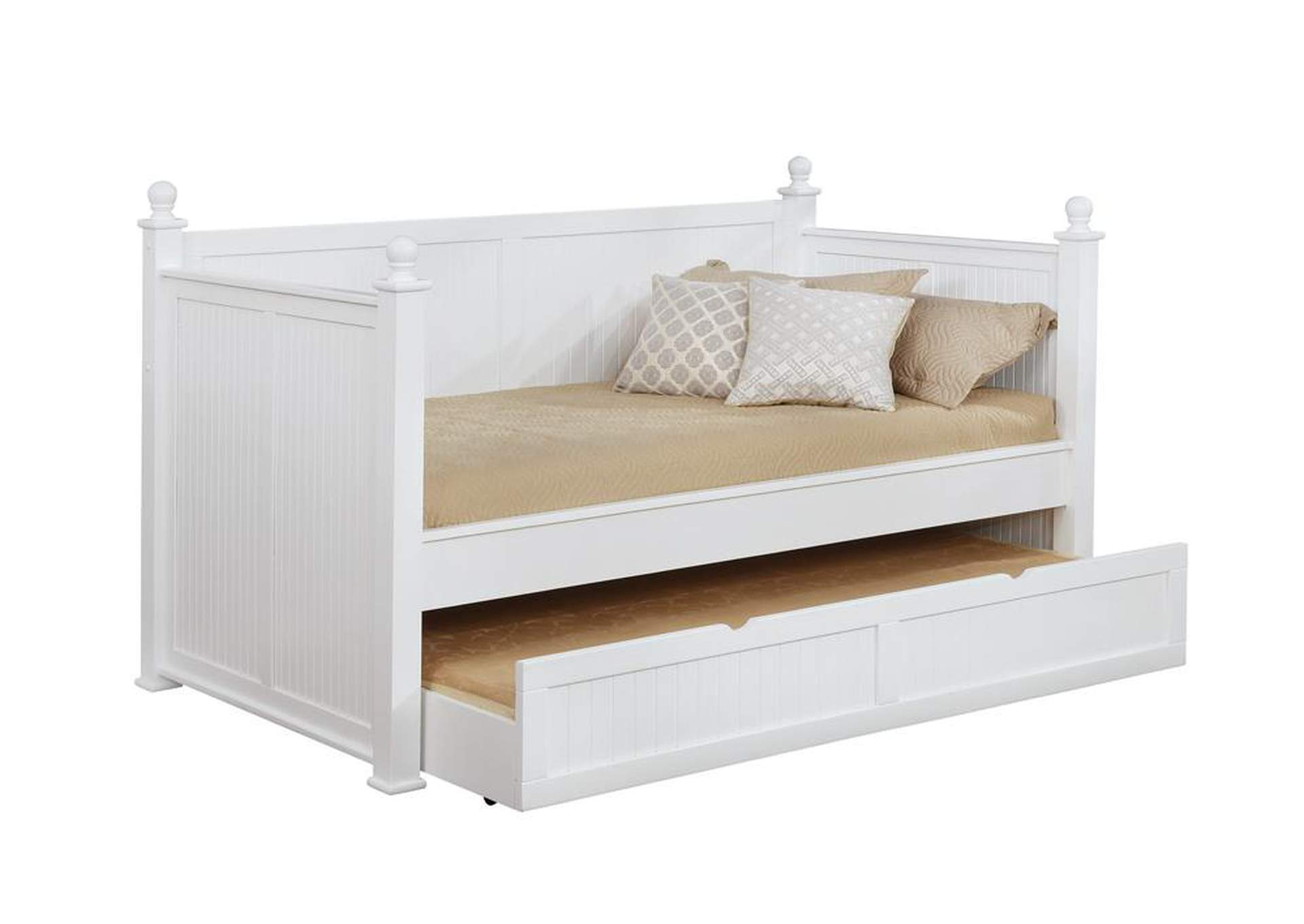 Alto Wastal White Daybed,Coaster Furniture
