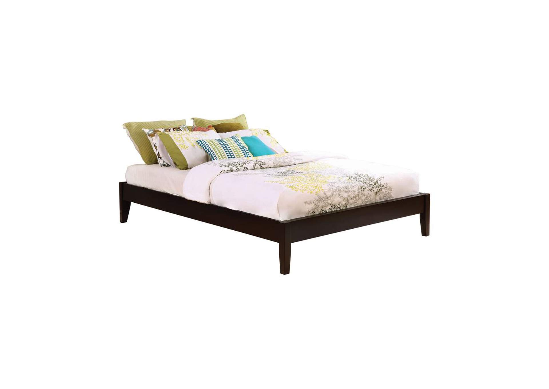 Lola Hounslow Cappuccino Queen Platform Bed,Coaster Furniture