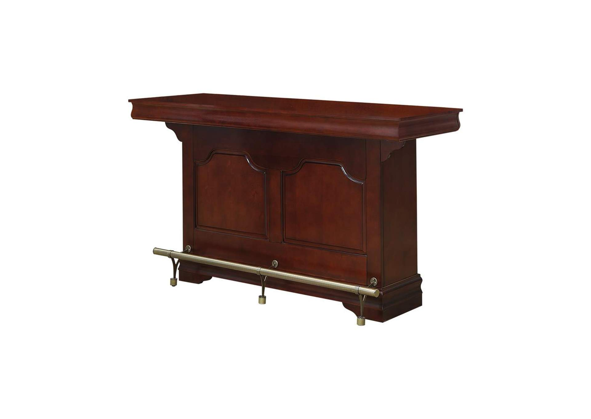 Espresso Traditional Cherry Bar Unit,Coaster Furniture
