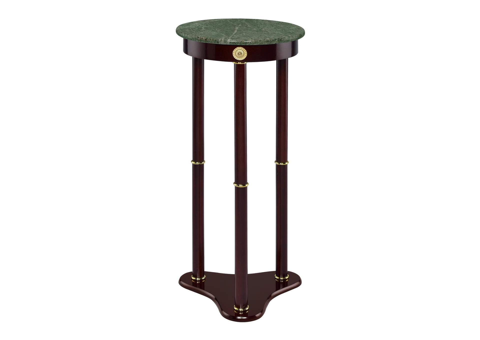 Merlot Traditional Round Plant Stand,Coaster Furniture