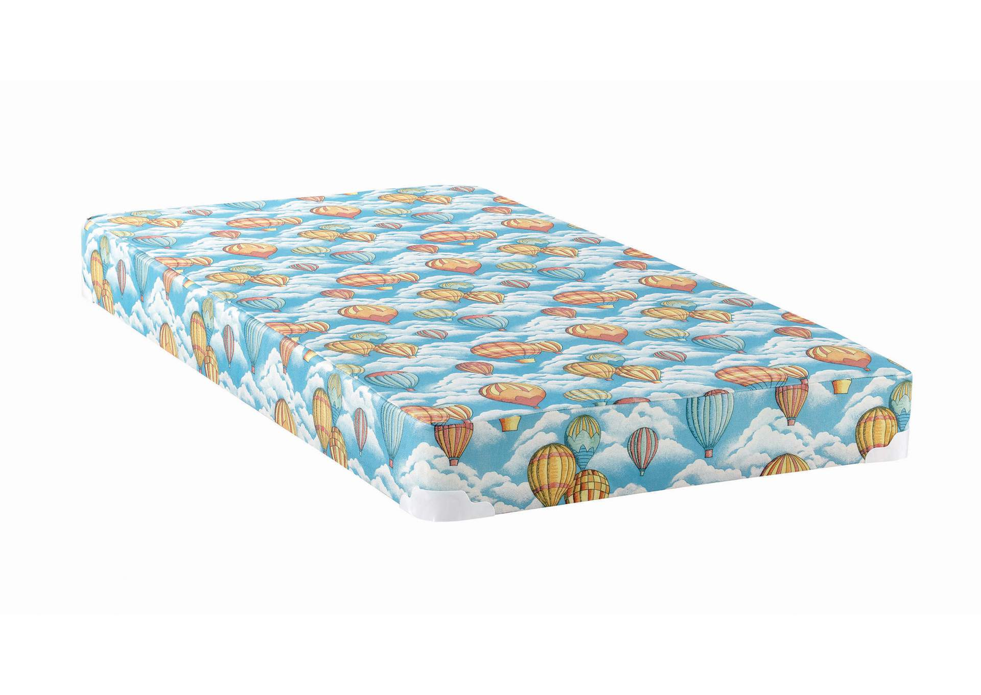 Botticelli Balloon Blue Patterned Twin Mattress,Coaster Furniture