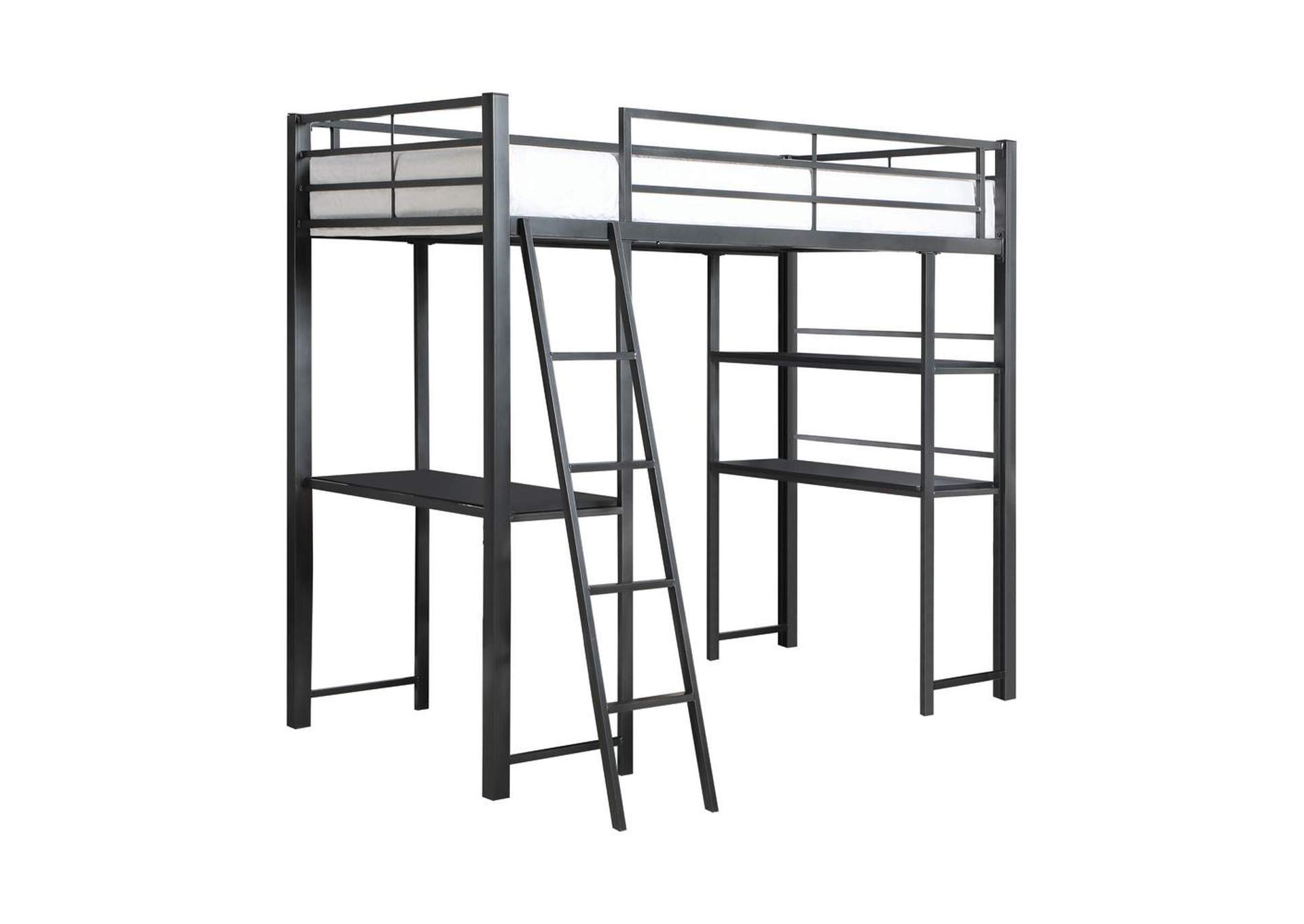 Twin Workstation Loft Bed,Coaster Furniture