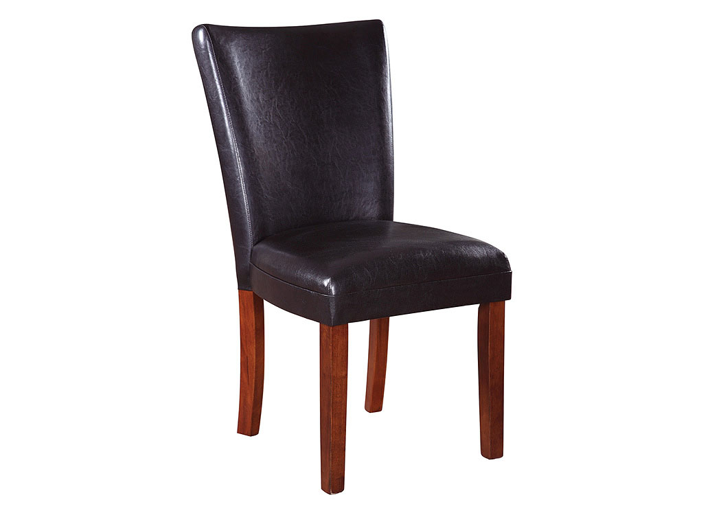 Cherry Telegraph Brown Parson Side Dining Chair,Coaster Furniture