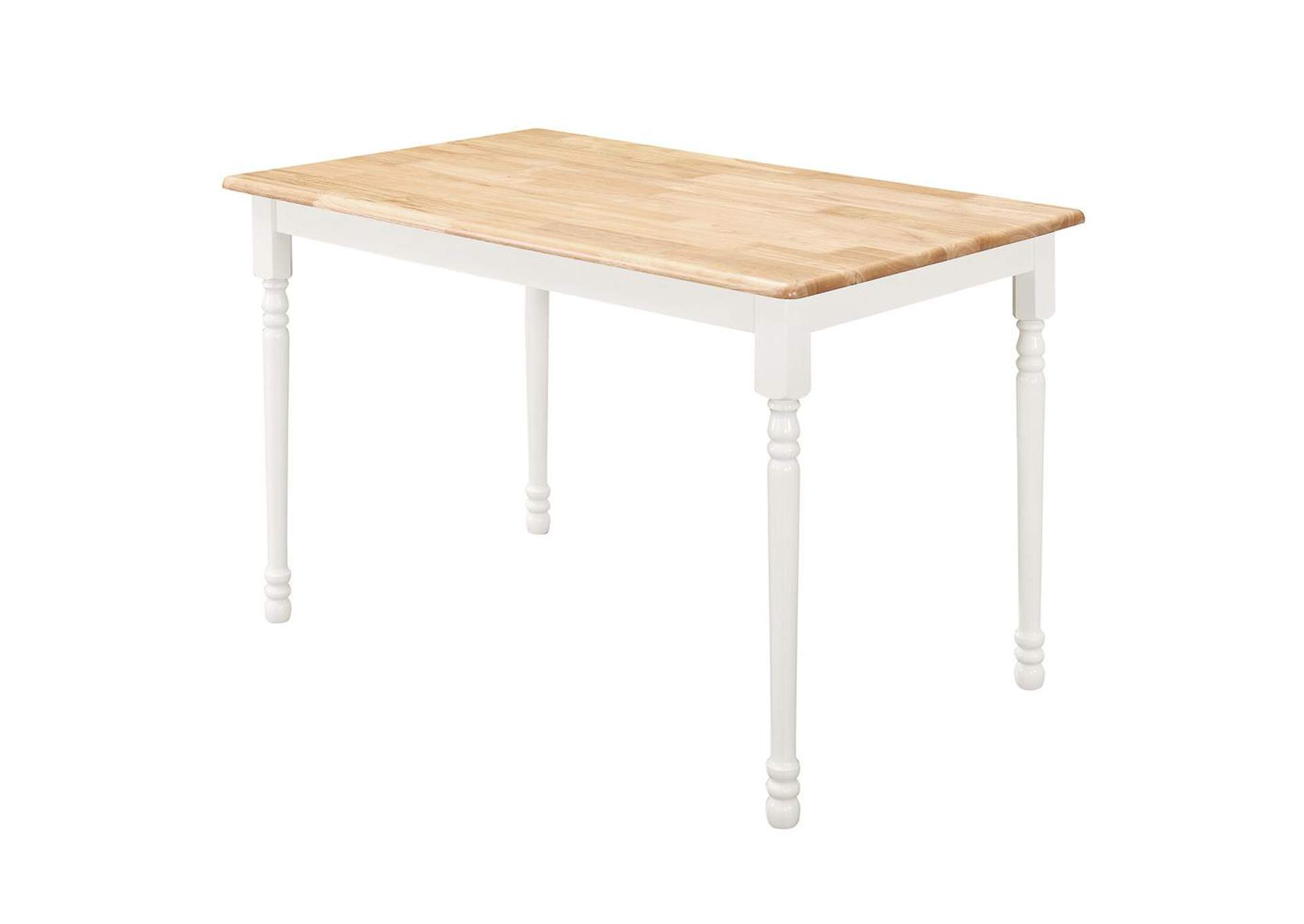 Ebb Damen Country Rectangular Dining Table,Coaster Furniture