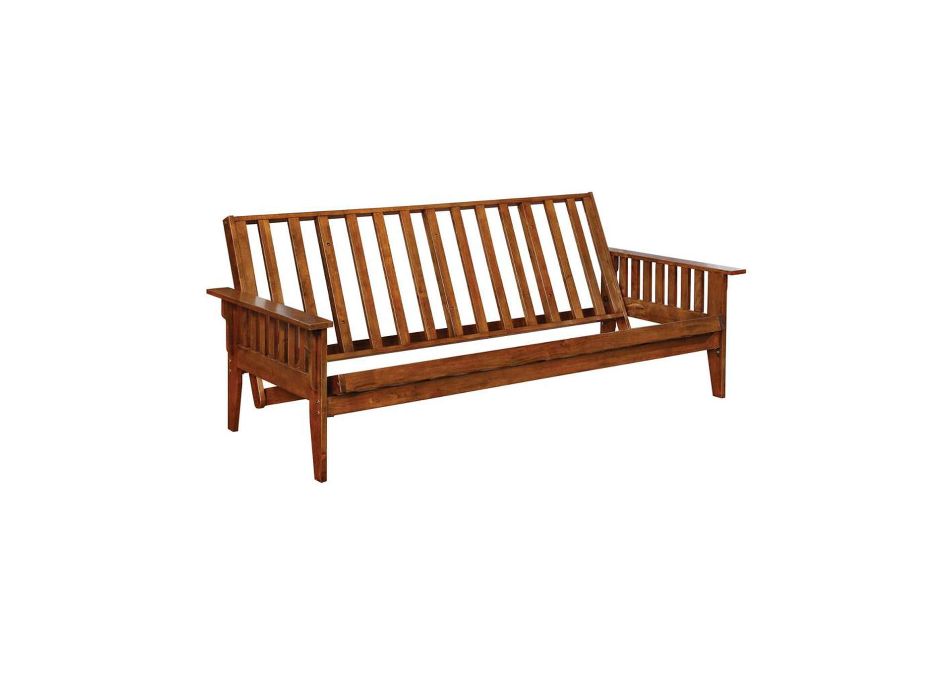 Russet Traditional Dirty Oak Futon Frame,Coaster Furniture