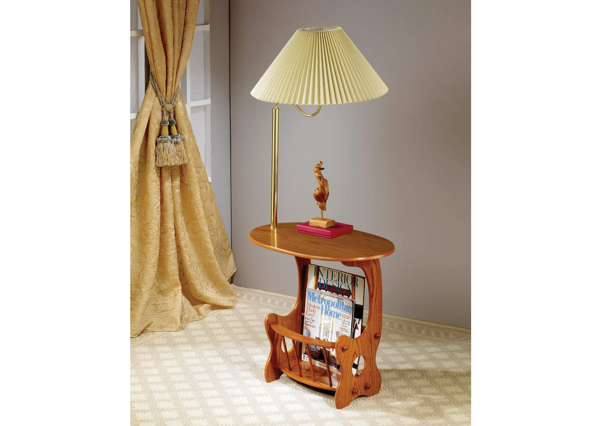 Warm Brown Traditional Accent Table,Coaster Furniture