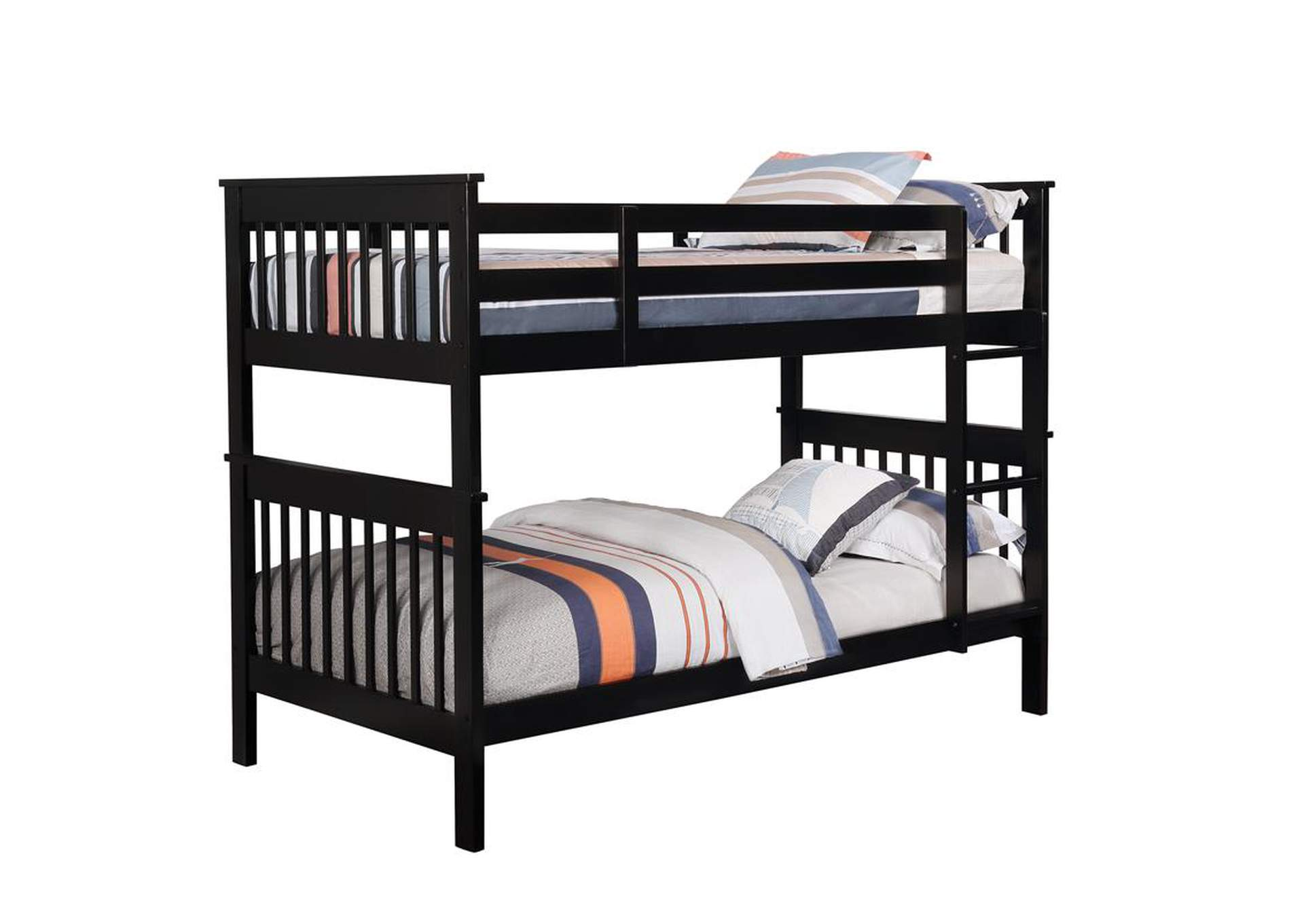 Cod Gray Twin/Twin Bunk Bed,Coaster Furniture