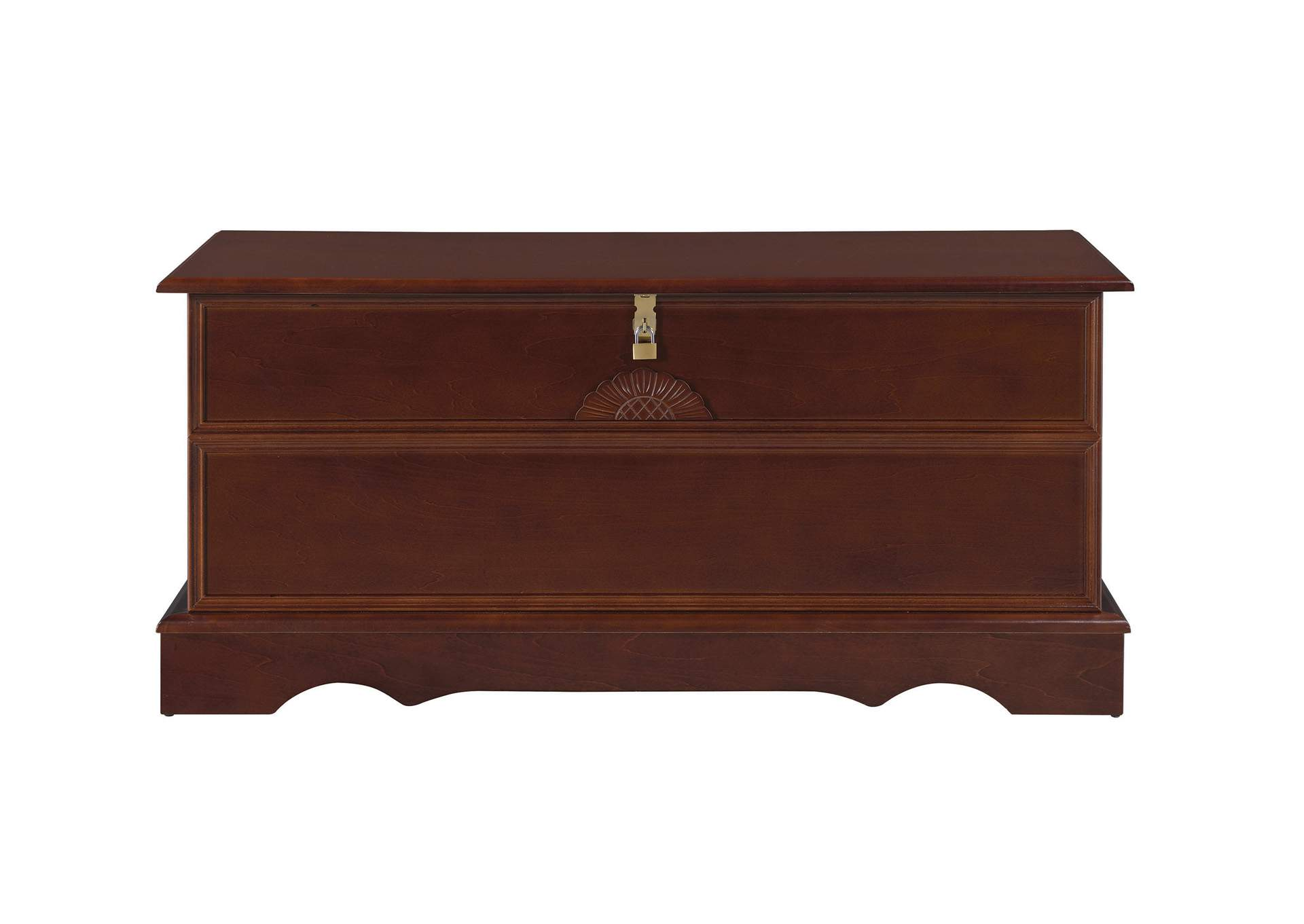 Warm Brown Traditional Cedar Brown Chest,Coaster Furniture