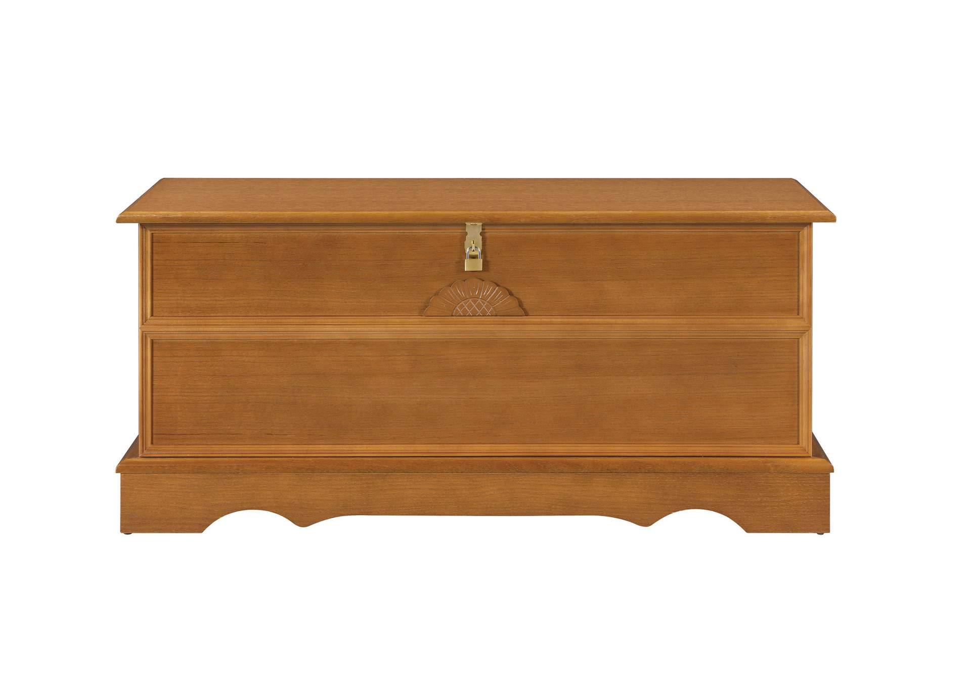 Honey Traditional Oak Honey Chest,Coaster Furniture