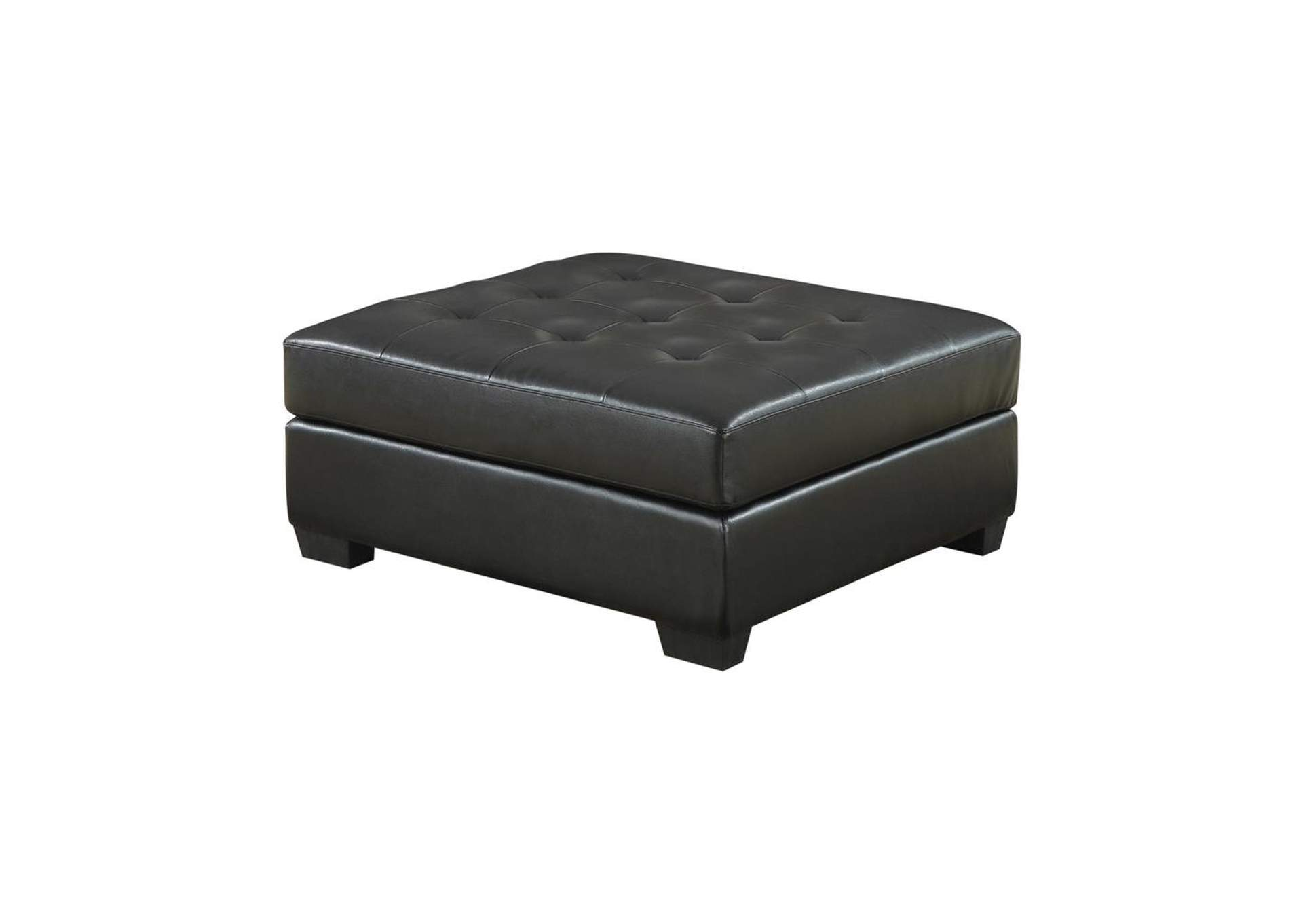 Tundora Darie Contemporary Black Ottoman,Coaster Furniture