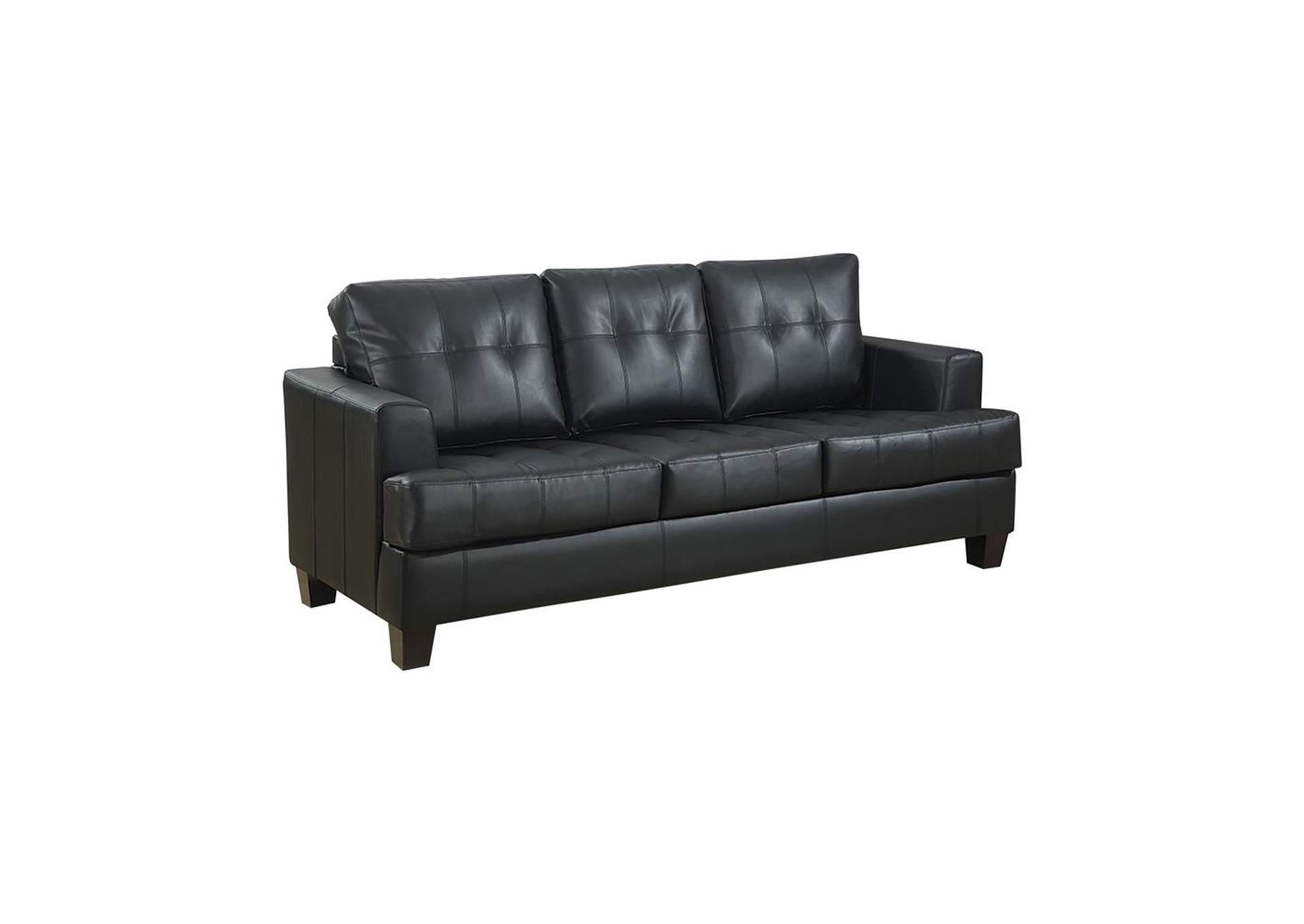 Samuel Sleeper Sofa Black,Coaster Furniture