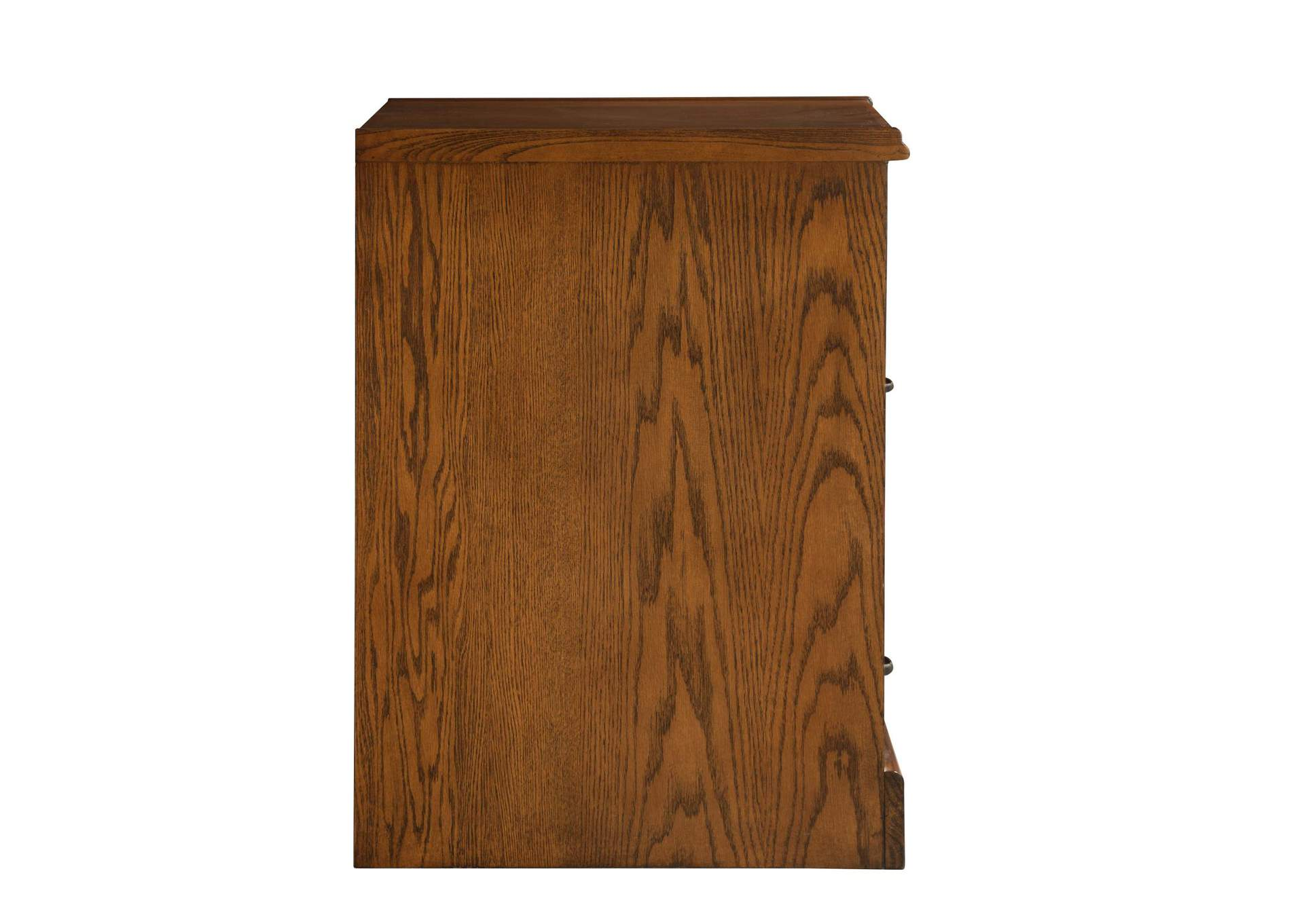 Raw Umber Palmetto Two-Drawer File Cabinet,Coaster Furniture