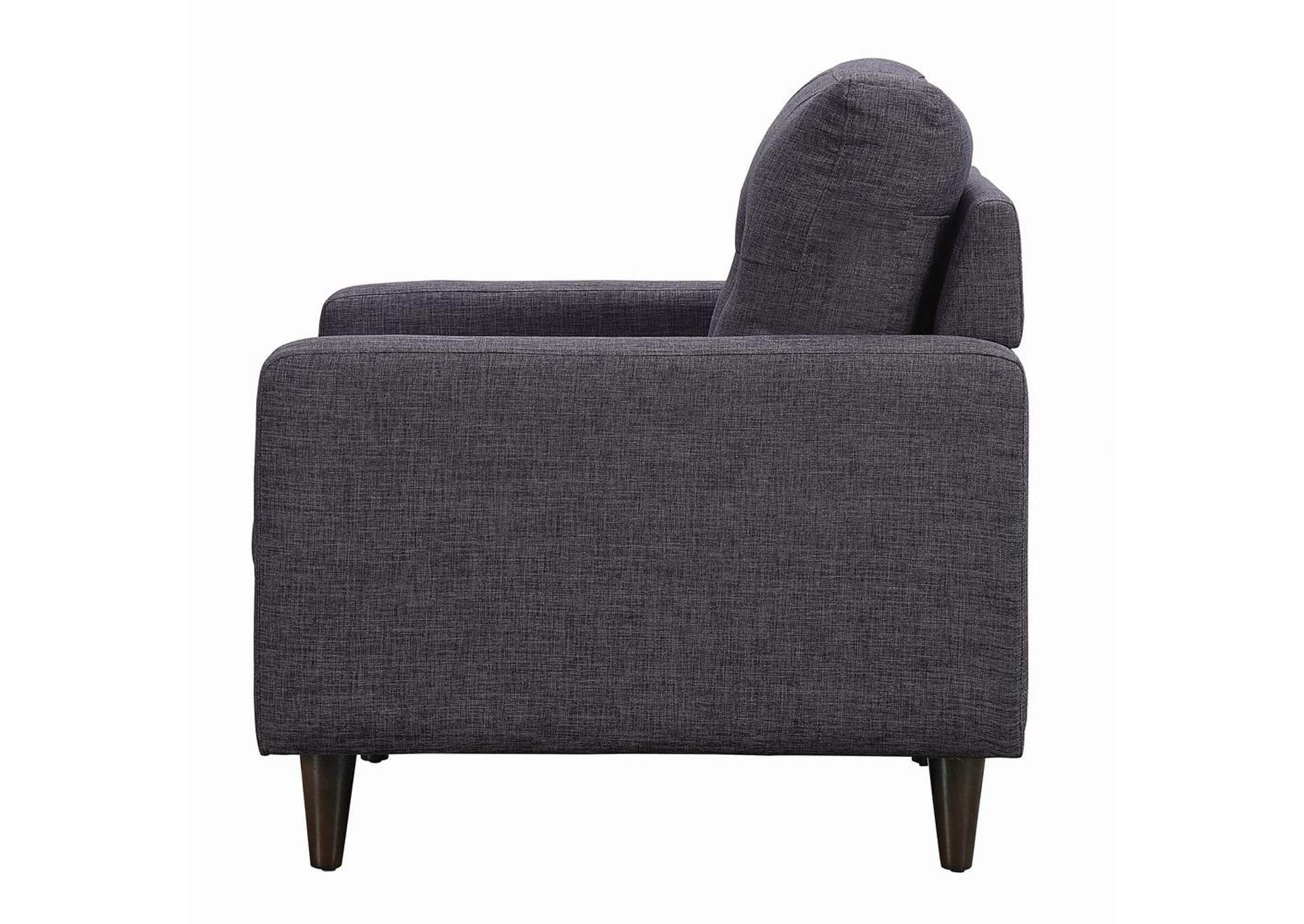 Thunder Watsonville Retro Grey Chair,Coaster Furniture